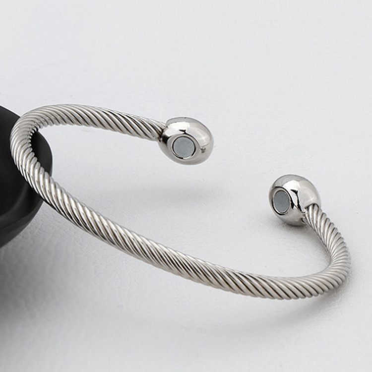 Magnetic Bracelet Las Mens Bangle